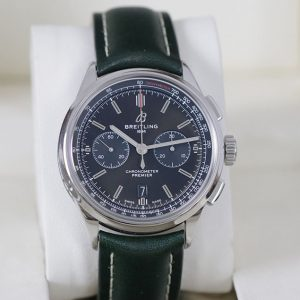 ברייטלינג בנטלי פרימייר לוח ירוק - שעון במצב חדש 42ממ סט מלא - AB0118A11L1X1